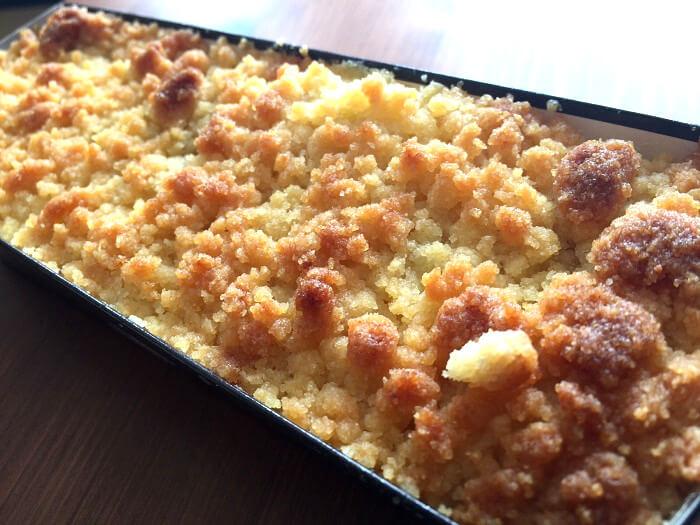 成城石井「プレミアムチーズケーキ」の蓋を取った写真