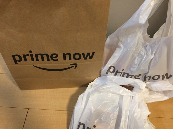 prime now - 商品到着