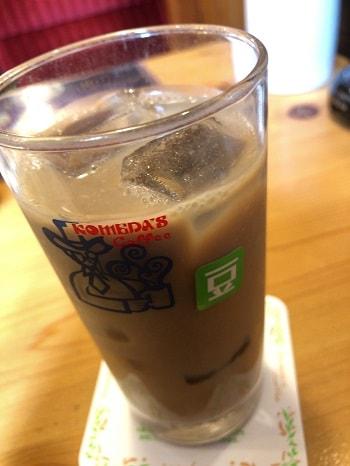 コメダ珈琲店 - アイス豆乳オーレ