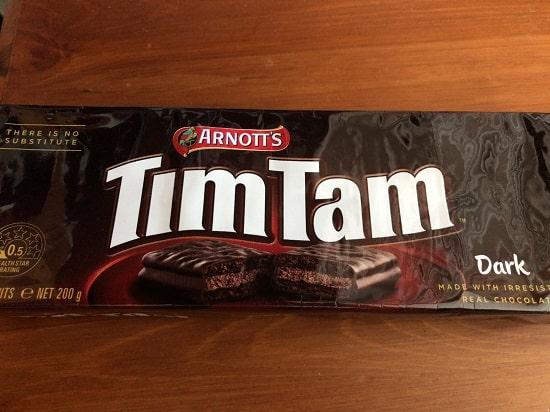 TimTam(ティムタム)- ダーク包み紙