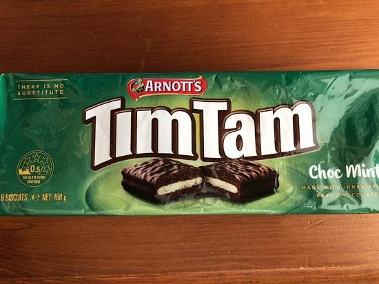 TimTam(ティムタム)- チョコミント包み紙