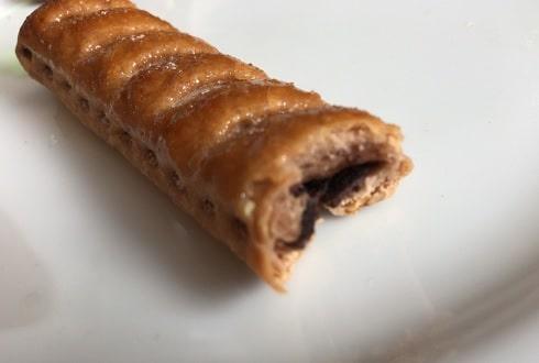サクッテ チョコレートパイの断面